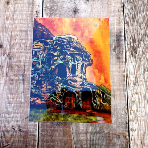 Castle Rock Caves Limited Edition Prints