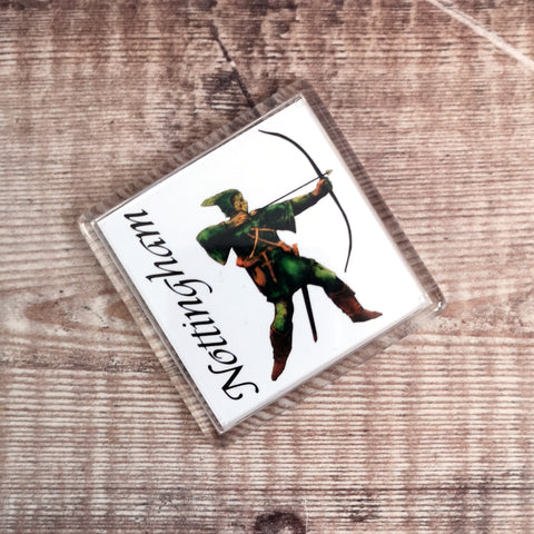 Nottingham Robin Hood Fridge Magnet