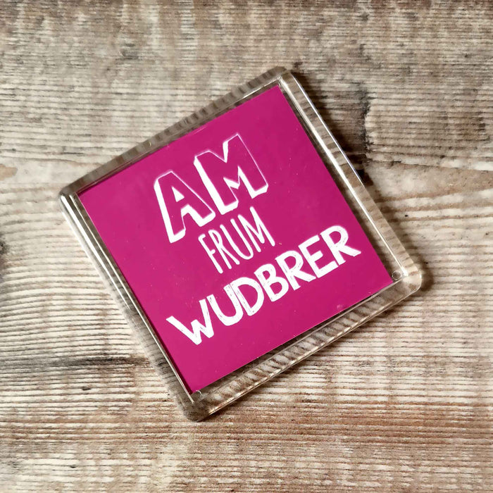 Wudbrer Placename Fridge Magnet