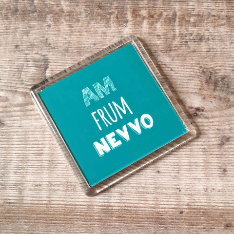 Am frum Nevvo Placename Fridge Magnet