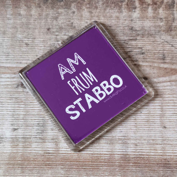 Am frum Stabbo Placename Fridge Magnet