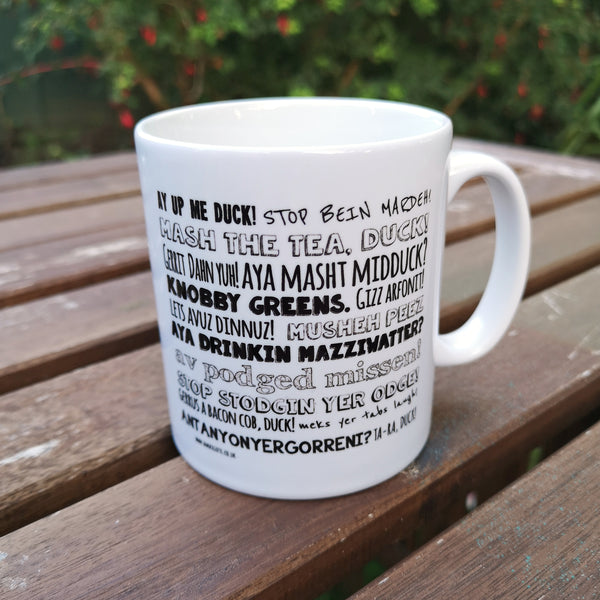 Nottingham Phrases Mug
