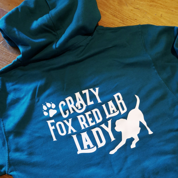 Crazy Dog lady/man Hoodie