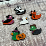 Quackula Wooden Pin