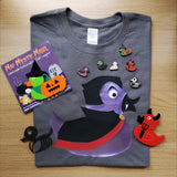 Quackula Halloween Adult T-shirt