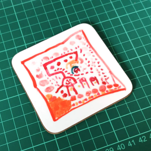 Personalised Artwork Coaster