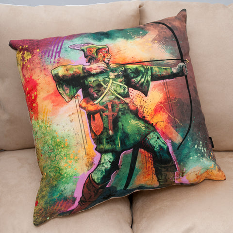 Robin Hood Faux Suede Cushion