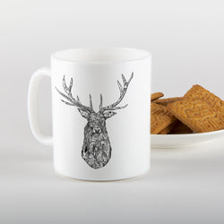 Stag Mug by Art of Ian Jones