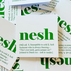 Nesh Greetings Card