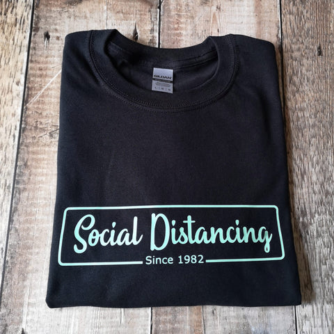 Social Distancing since (year) T-shirt