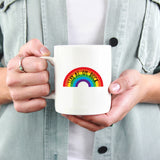 Sit Tight / Stay at 'Om, Duck Rainbow Mug