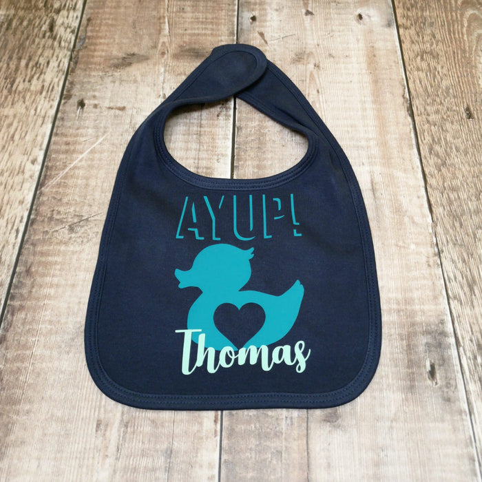 Build your own Baby Bib! All existing designs available