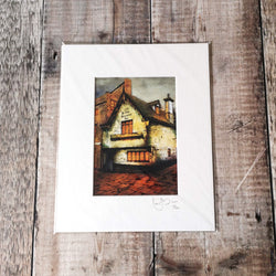 Limited Edition Salutation Inn Mounted Print