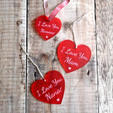 I Love You, Heart Decorations