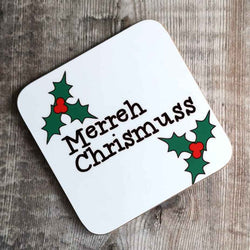Merreh Chrissmuss Coaster