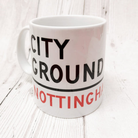 City Ground Sign Mug