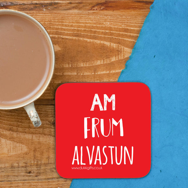 Alvastun Elvaston placename Coaster