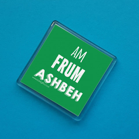 Ashbeh Placename Fridge Magnet