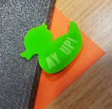 Engraved Duck Shaped Magnets