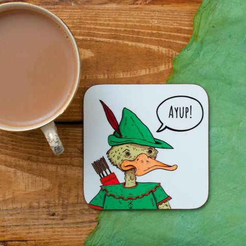 Ay up Robin Duck Coaster