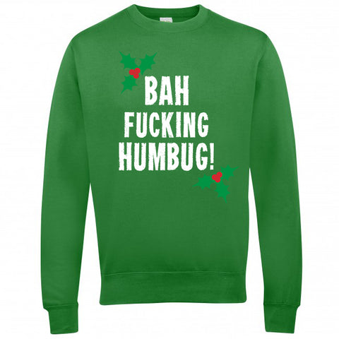 Bah Fucking Humbug! Christmas Jumpers