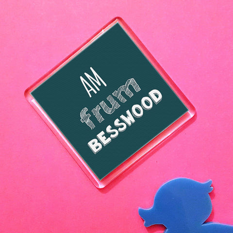 Besswood Placename Fridge Magnet