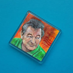Brian Clough Fridge Magnet
