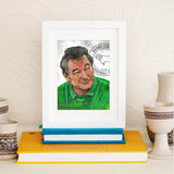 Brian Clough Derby County Limited Edition Prints