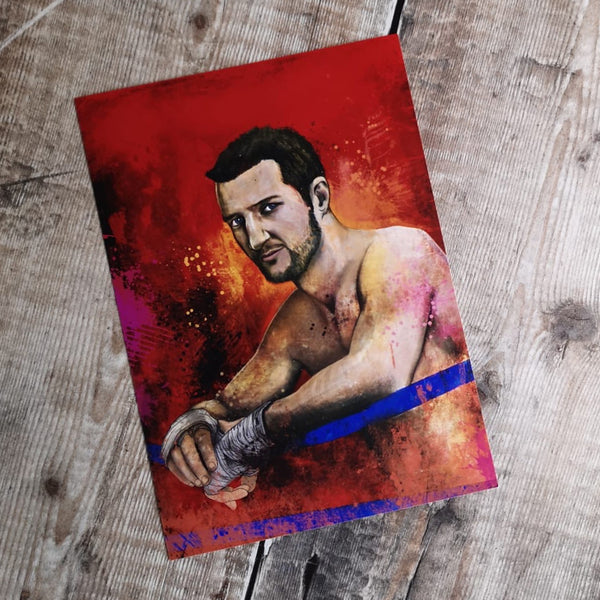 Carl Froch Limited Edition Portrait Prints