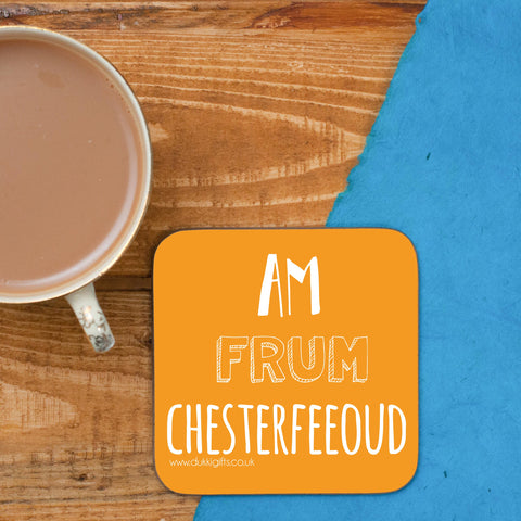 Chesterfeeoud - Chesterfield Placename Coaster