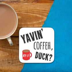 Yavin' Coffeh, Duck? Coaster