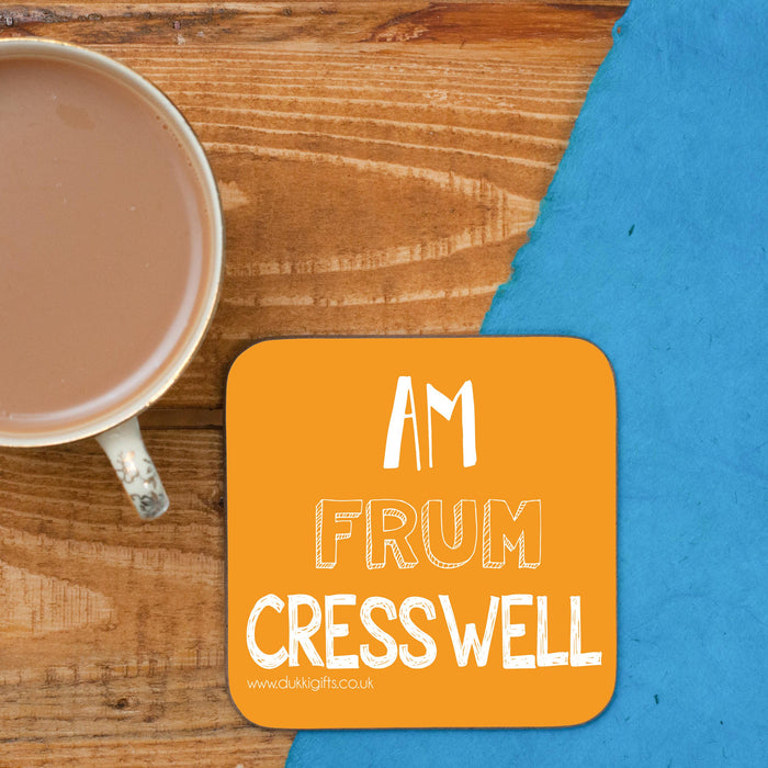 Cresswell Placename Coaster