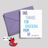 Rude Father's Day Card