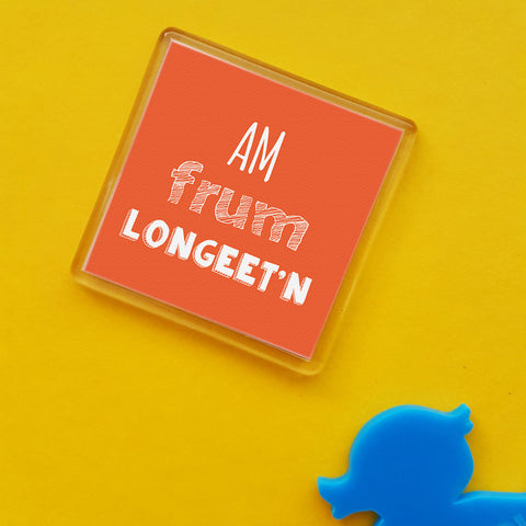 Longeet'n Placename Fridge Magnet