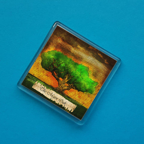 Major Oak Fridge Magnet