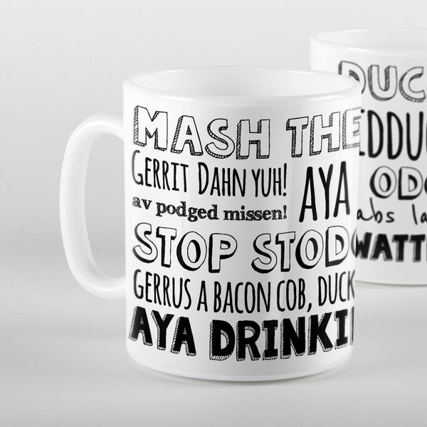 Food and Drink phrases - Mug