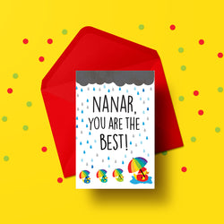 Nanar, you are the best! Card