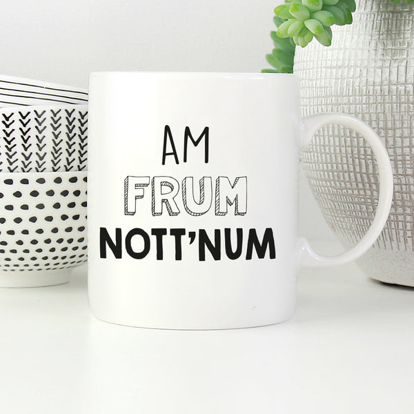 Am Frum - Placename Mugs