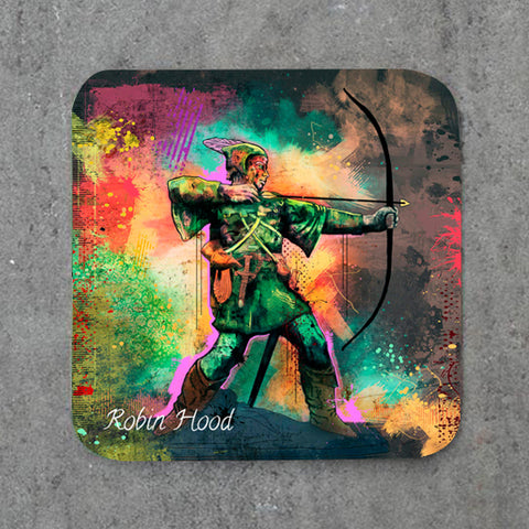 Graffiti Robin Hood Coaster