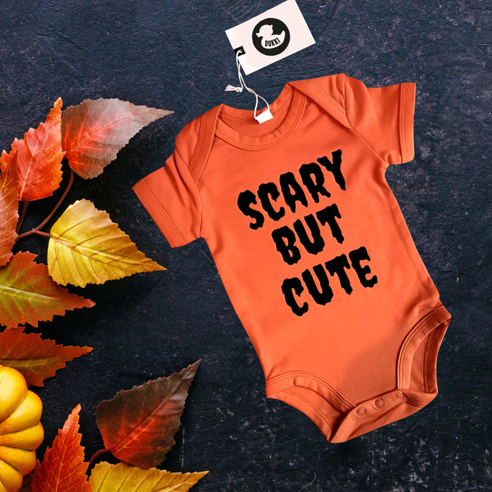 Scary but cute Halloween Baby grow