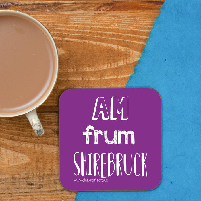 Shirebruck - Shirebrook Placename Coaster