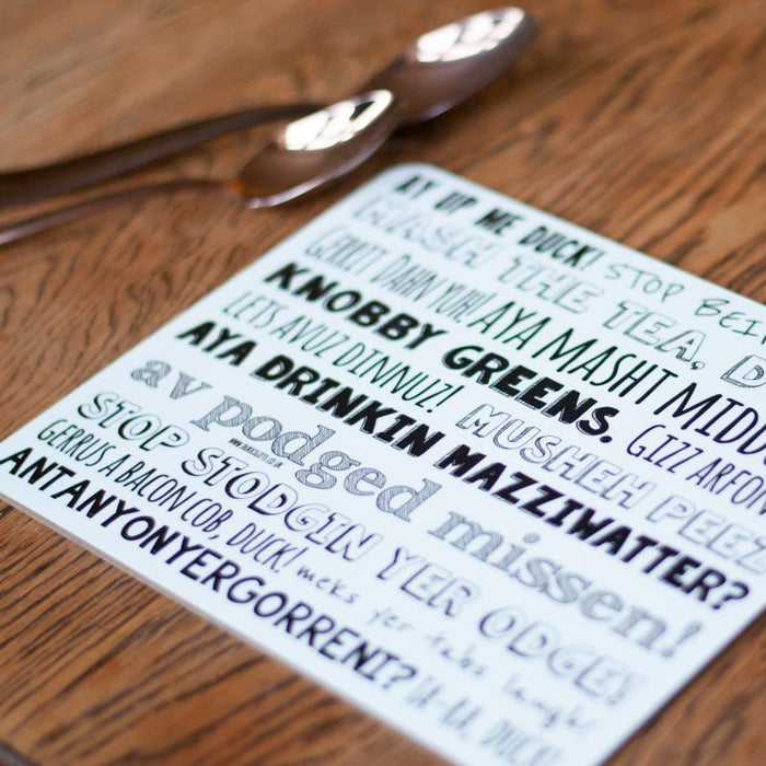 Nottingham Phrases Placemats