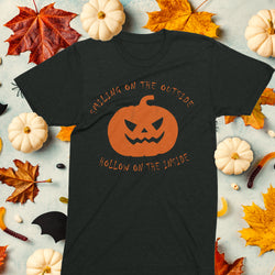 Smiling on the outside Halloween t-shirt