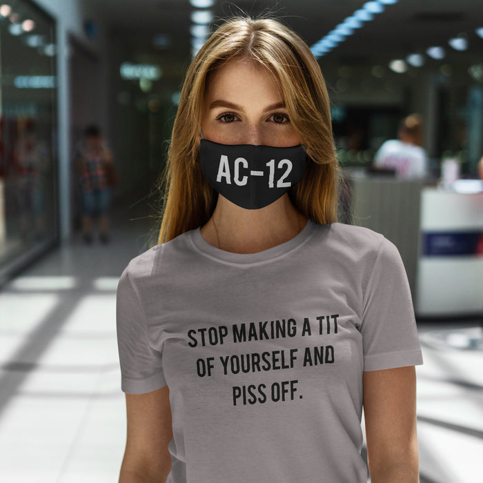 Stop making a tit of yourself T-shirt