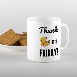 Thank Duck It's Friday! Mug