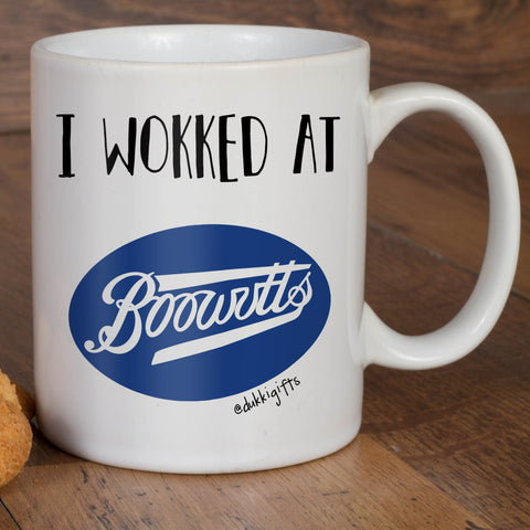 I wok / wokked at Boowutts Mug