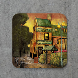 Ye Olde Trip To Jerusalem Coaster