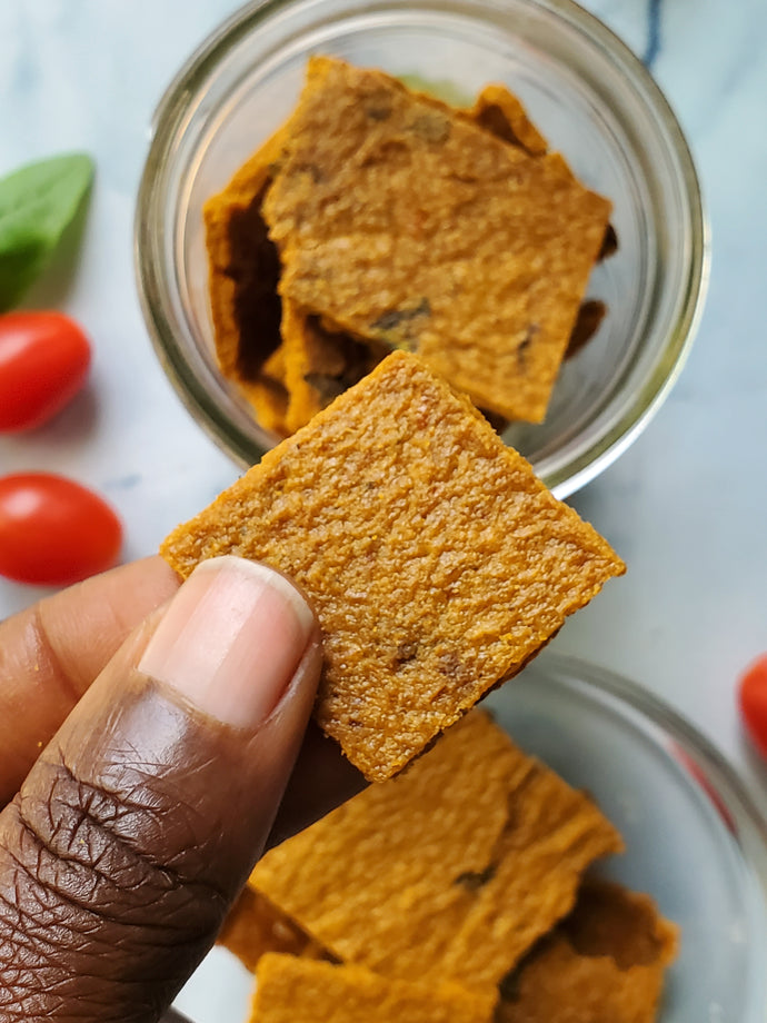 Raw Italian Parmesan Cheese Crisps