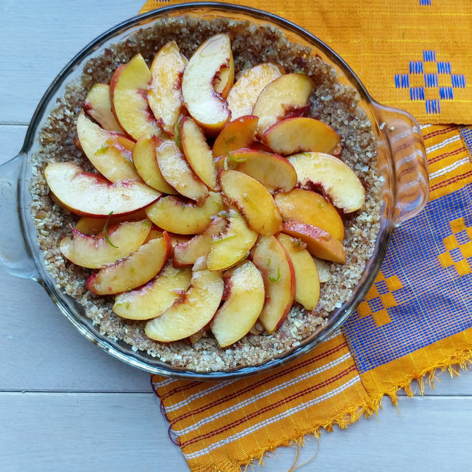 Happy Pi Day: Stone Fruit Raw Pie