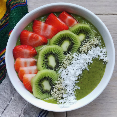 Heavy metal smoothie bowl